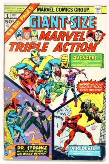 MARVEL TRIPLE ACTION GIANT SIZE #1 Marvel Comics 1975