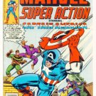 MARVEL SUPER ACTION #7 Marvel Comics 1978 Captain America