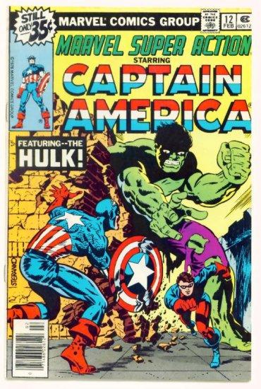 MARVEL SUPER ACTION #12 Marvel Comics 1979 Captain America