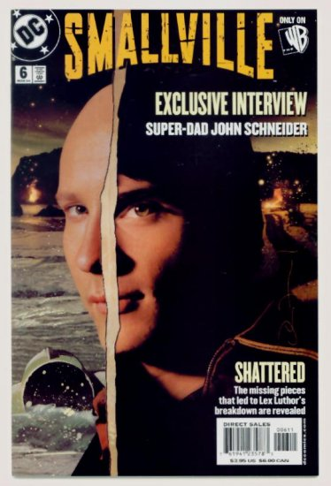 SMALLVILLE #6 DC Comics 2004 Photo Cover CW TV