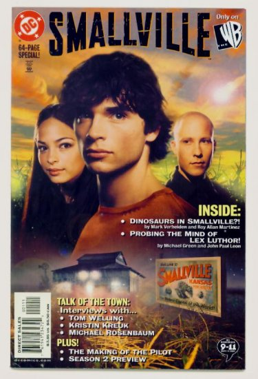 SMALLVILLE SPECIAL #1 DC Comics 2002 Photo Cover CW TV
