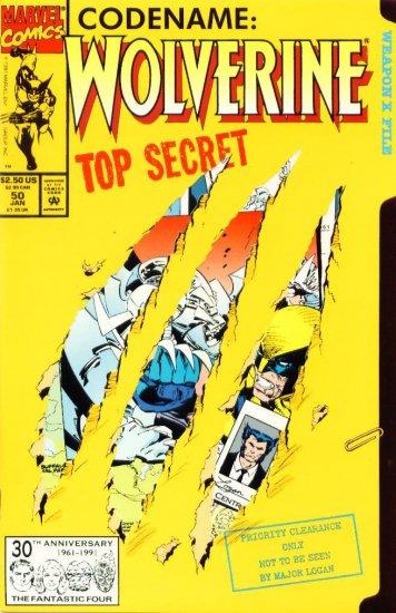 WOLVERINE #50 Marvel Comics 1992 NM
