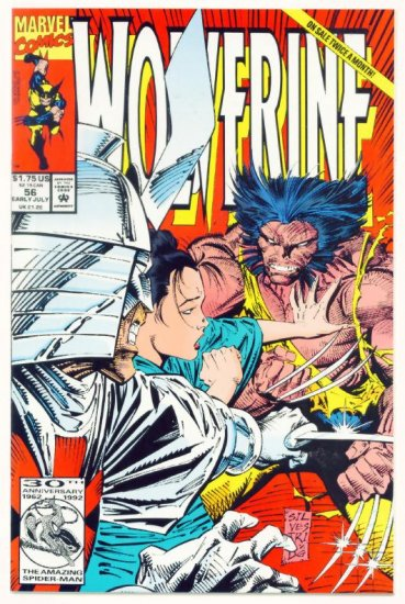 WOLVERINE #56 Marvel Comics 1992 NM