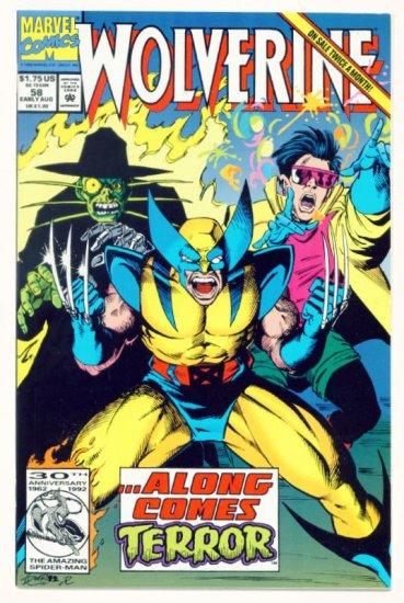 WOLVERINE #58 Marvel Comics 1992 NM