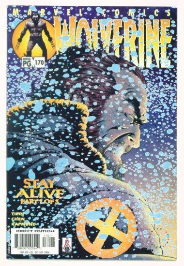 WOLVERINE #170 Marvel Comics 2002 NM