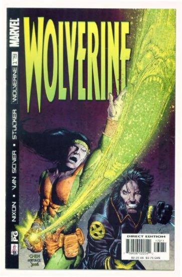WOLVERINE #179 Marvel Comics 2002 NM