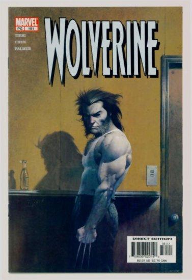 WOLVERINE #181 Marvel Comics 2002 NM