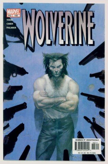 WOLVERINE #182 Marvel Comics 2002 NM