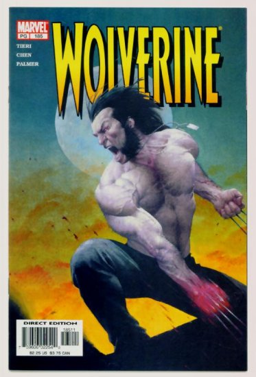 WOLVERINE #185 Marvel Comics 2003 NM