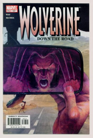 WOLVERINE #187 Marvel Comics 2003 NM