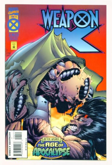 WEAPON X #4 Marvel Comics 1995 NM Wolverine Age of Apocalypse