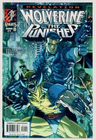 WOLVERINE PUNISHER REVELATION #1 Marvel Comics 1999 NM