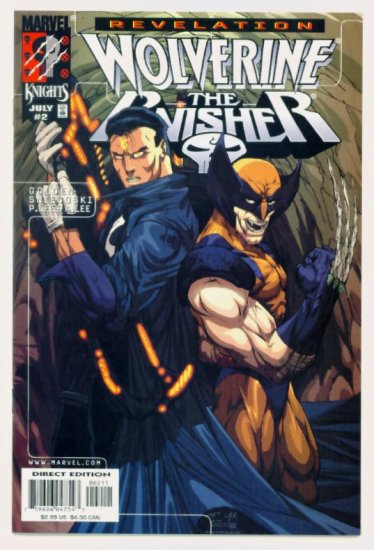 WOLVERINE PUNISHER REVELATION #2 Marvel Comics 1999 NM