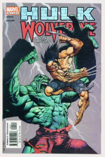 HULK WOLVERINE SIX HOURS #4 Marvel Comics 2003 NM