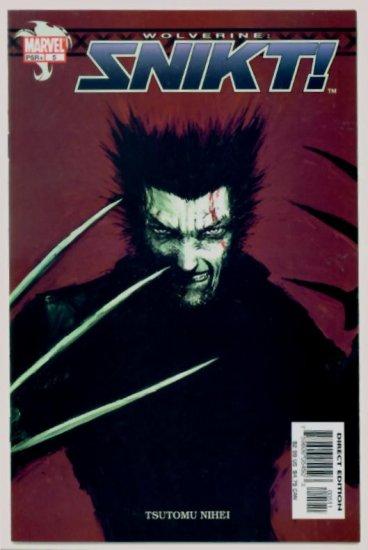 WOLVERINE SNIKT #5 Marvel Comics 2003 NM