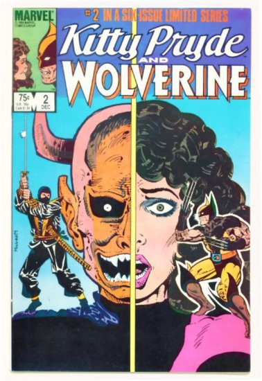 KITTY PRYDE WOLVERINE #2 Marvel Comics 1984
