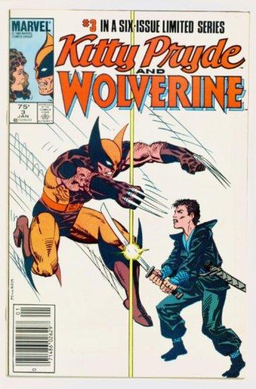 KITTY PRYDE WOLVERINE #3 Marvel Comics 1985