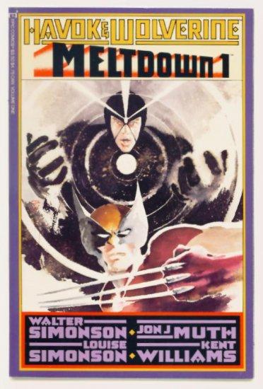 HAVOK WOLVERINE MELTDOWN #1 Marvel Epic Comics 1988