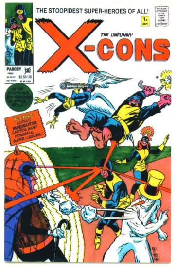 X-MEN The X-CONS #1 Parody Press Comics 1992