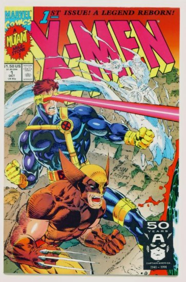 X-MEN #1 Marvel Comics 1991 NM Cover #1C