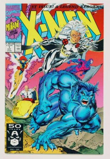 X-MEN #1 Marvel Comics 1991 NM Cover #1A