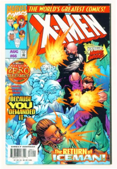 X-MEN #66 Marvel Comics 1997 NM