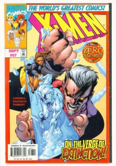 X-MEN #67 Marvel Comics 1997 NM