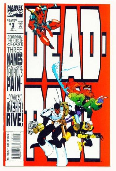DEADPOOL The CIRCLE CHASE #3 Marvel Comics 1993 NM