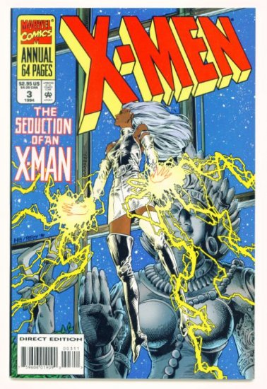 X-MEN ANNUAL #3 Marvel Comics 1992 NM
