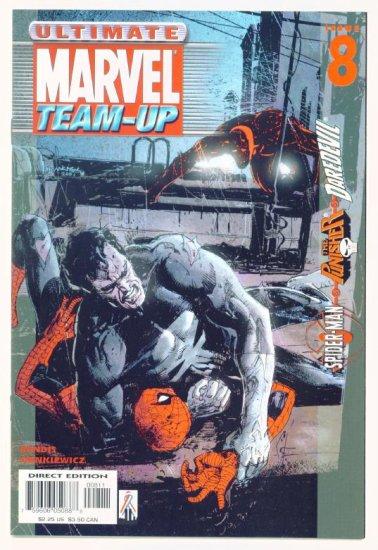 SPIDER-MAN PUNISHER ULTIMATE MARVEL TEAM-UP #8 Marvel Comics 2001