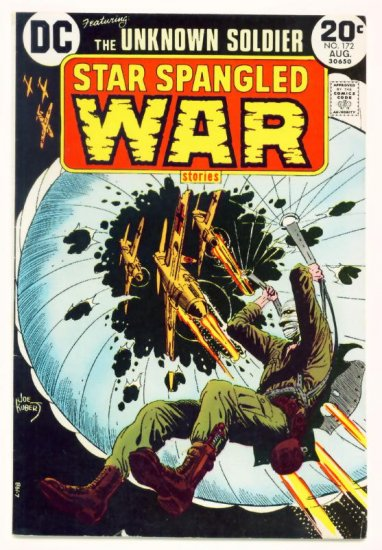 STAR SPANGLED WAR #172 DC Comics 1973 The Unknown Soldier