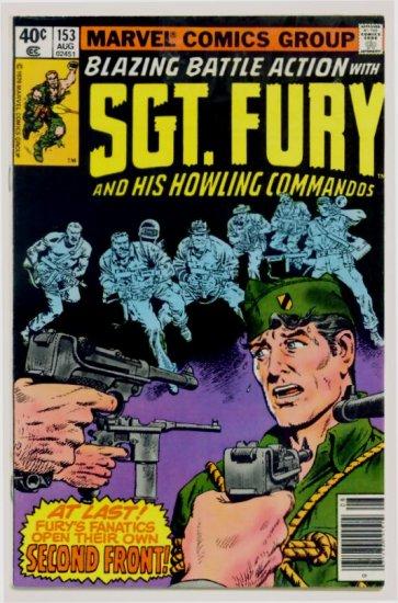 SGT. FURY and His HOWLING COMMANDOS #153 Marvel Comics 1979