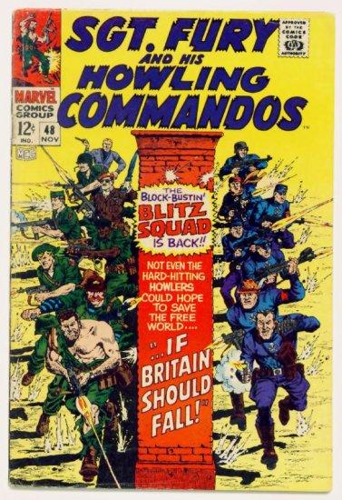 SGT. FURY and His HOWLING COMMANDOS #48 Marvel Comics 1967
