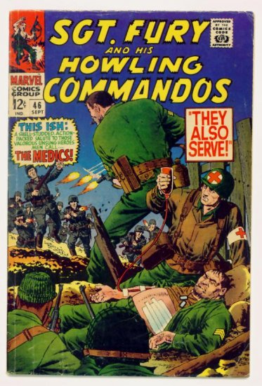 SGT. FURY and His HOWLING COMMANDOS #46 Marvel Comics 1967