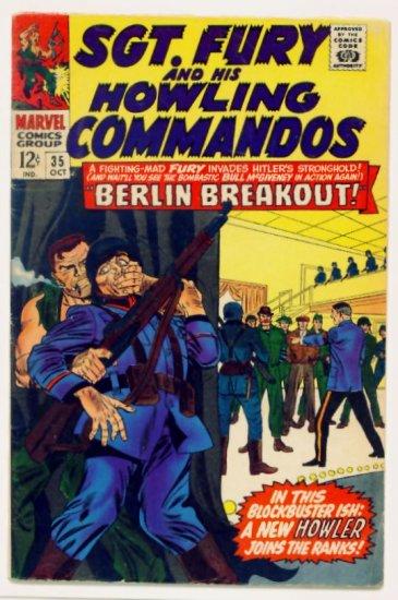 SGT. FURY and His HOWLING COMMANDOS #35 Marvel Comics 1966