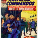 SGT. FURY and His HOWLING COMMANDOS #35 Marvel Comics 1966