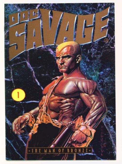 DOC SAVAGE The Man of Bronze #1 Millennium Comics