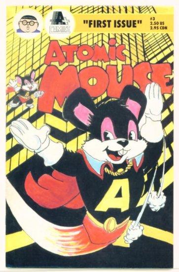 ATOMIC MOUSE #1 APLUS COMICS 1990