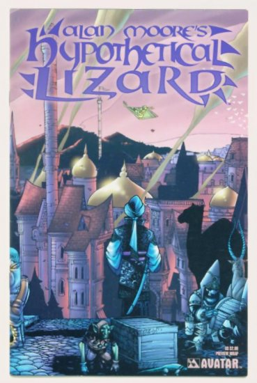 HYPOTHETICAL LIZARD PREVIEW Avatar Comics 2004 Alan Moore