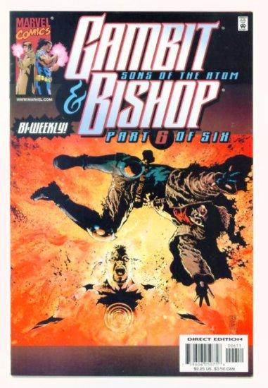 GAMBIT and BISHOP SONS OF THE ATOM #6 Marvel Comics 2001 NM X-Men