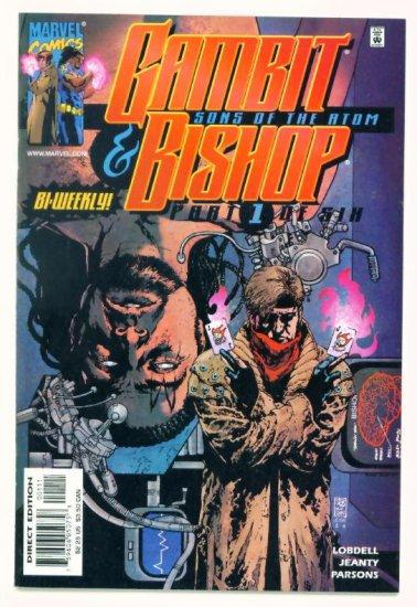 GAMBIT and BISHOP SONS OF THE ATOM #1 Marvel Comics 2001 NM X-Men