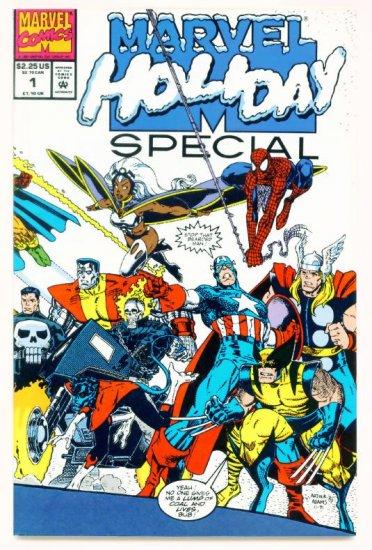MARVEL HOLIDAY SPECIAL #1 Marvel Comics 1991 X-Men Spider-man