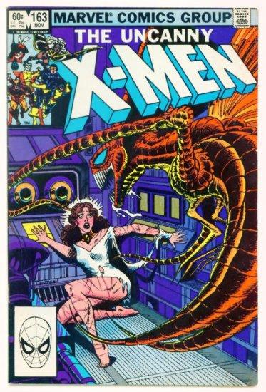 UNCANNY X-MEN #163 Marvel Comics 1982 Origin of Binary