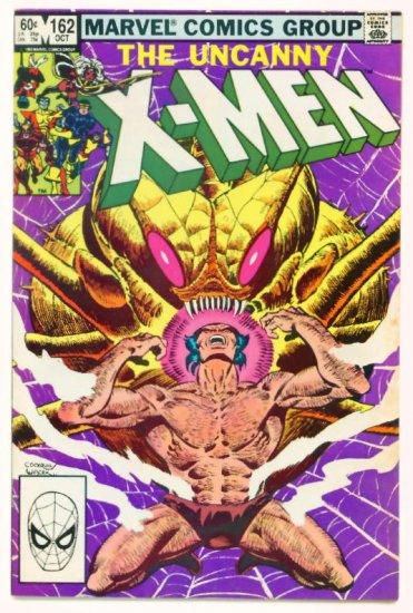 UNCANNY X-MEN #162 Marvel Comics 1982 Wolverine Solo Story