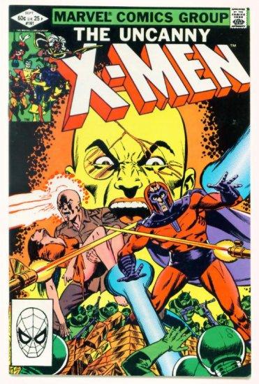 UNCANNY X-MEN #161 Marvel Comics 1982