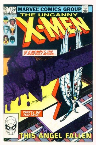 UNCANNY X-MEN #169 Marvel Comics 1983 VF