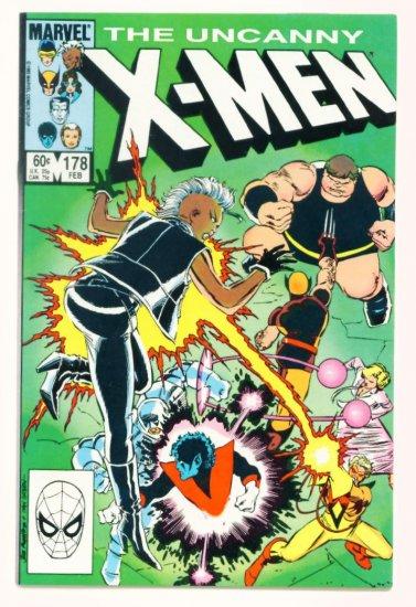 UNCANNY X-MEN #178 Marvel Comics 1984
