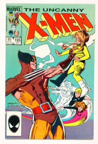 UNCANNY X-MEN #195 Marvel Comics 1985