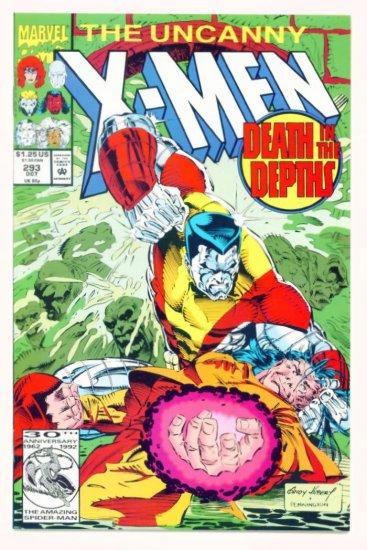 UNCANNY X-MEN #293 Marvel Comics 1992 NM
