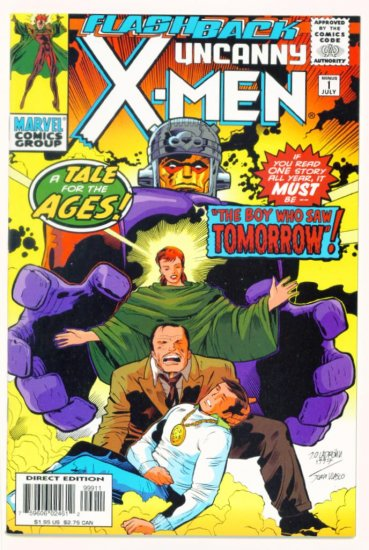UNCANNY X-MEN #-1 Minus One Marvel Comics 1997 NM